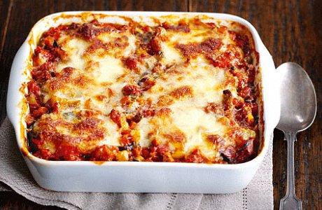Aubergine Tomato Bake
