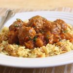Meat Balls With Spicy Tomato Sauce