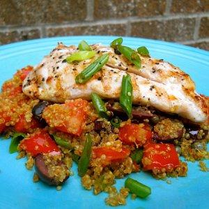 Mediterranean Chicken With Quinoa