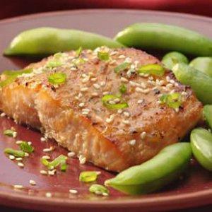 Mackerel With Tamari-Ginger Glaze