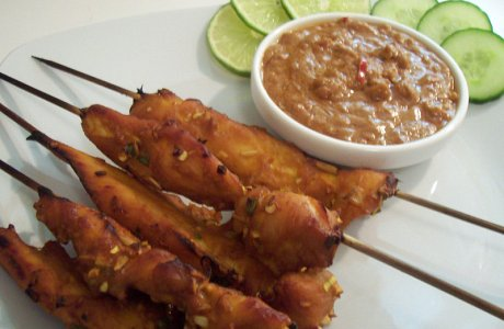 New You Boot Camp Spicy Chicken Satay