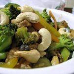 Stir Fried Vegetables With Cashews