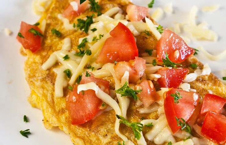 New You Boot Camp Caprese Omelette