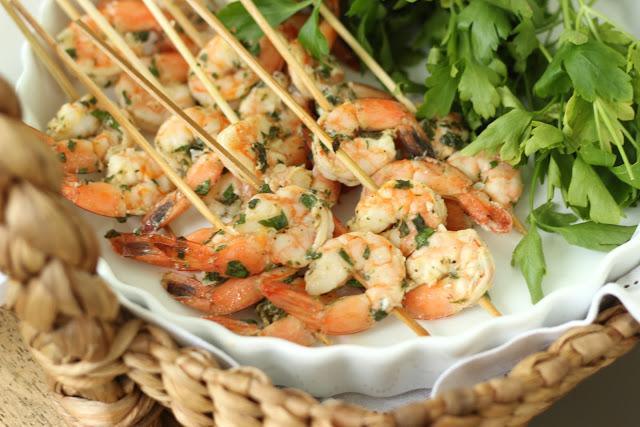 Grilled Shrimp Appetisers