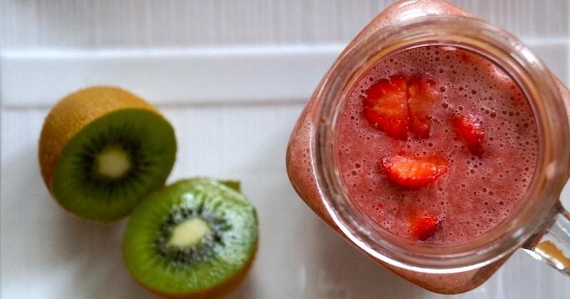 Strawberry Mojito Slushie