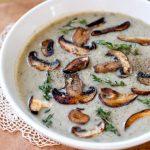 Mushroom, Leek and Thyme Soup