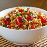 Quinoa and Roasted Pepper
