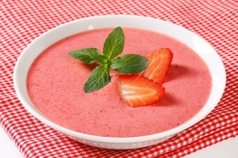 New You Boot Camp Strawberry Soup