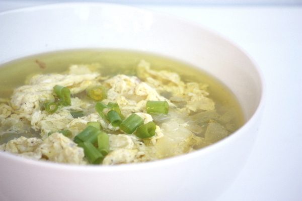 New You Boot Camp Egg Drop Soup