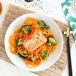 Salmon Butternut Squash Noodles