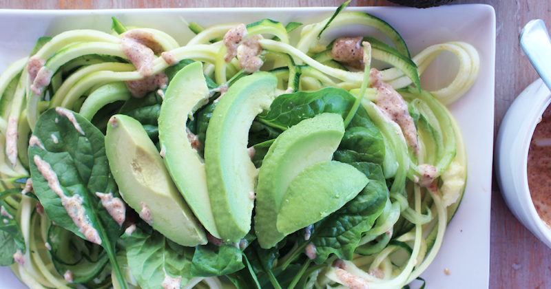 New You Boot Camp Courgette Salad