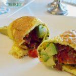 Egg Wrap With Bacon and Avocado