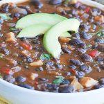 Caribbean Black Bean Soup