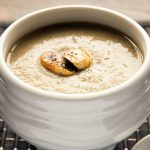 Creamy Courgette and Mushroom Soup