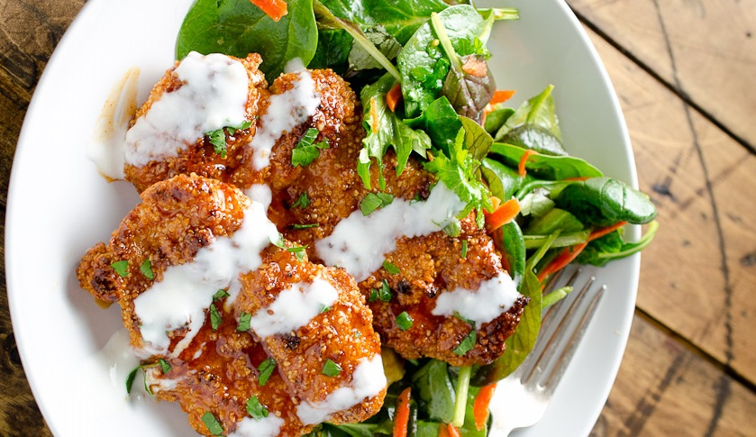 Sweet and Spicy Chicken Bites