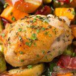 One Pan Autumn Chicken Dish