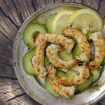Avocado and Prawn Salad