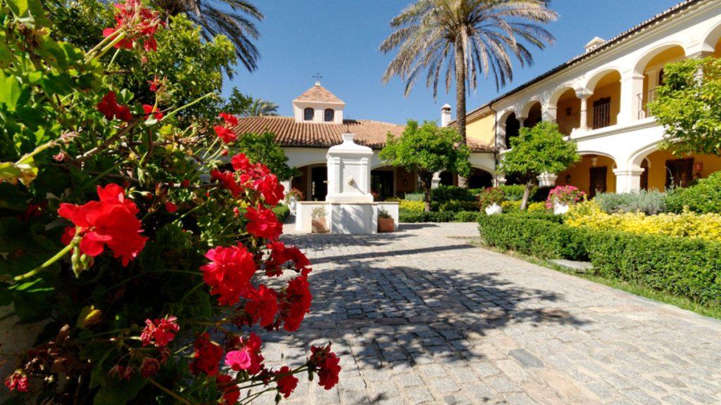 Spanish Monasterio Courtyard