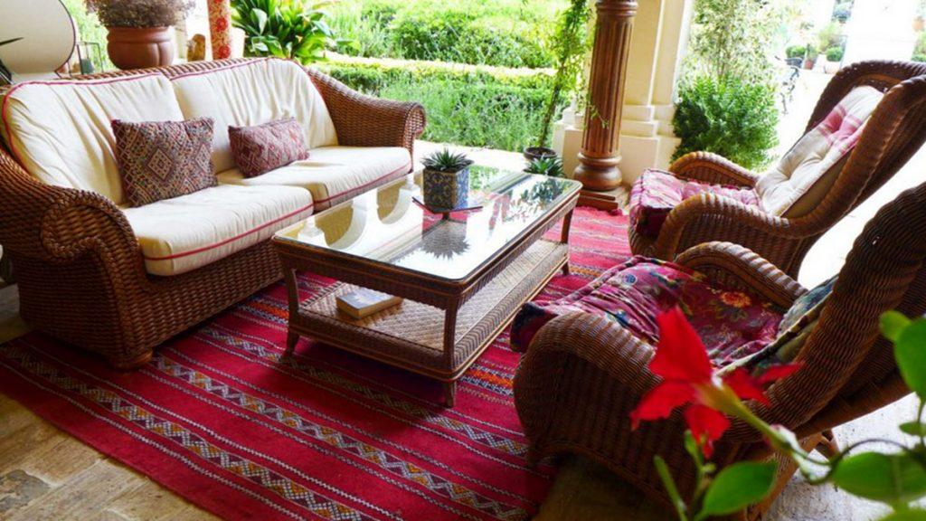 Monasterio Relaxation Area
