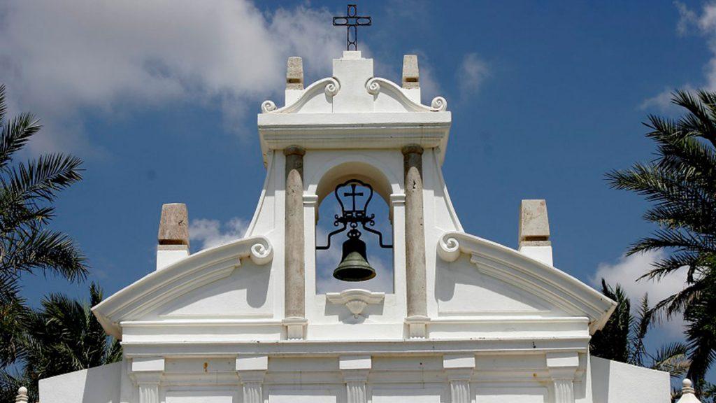 Historic Spanish Monasterio Bell
