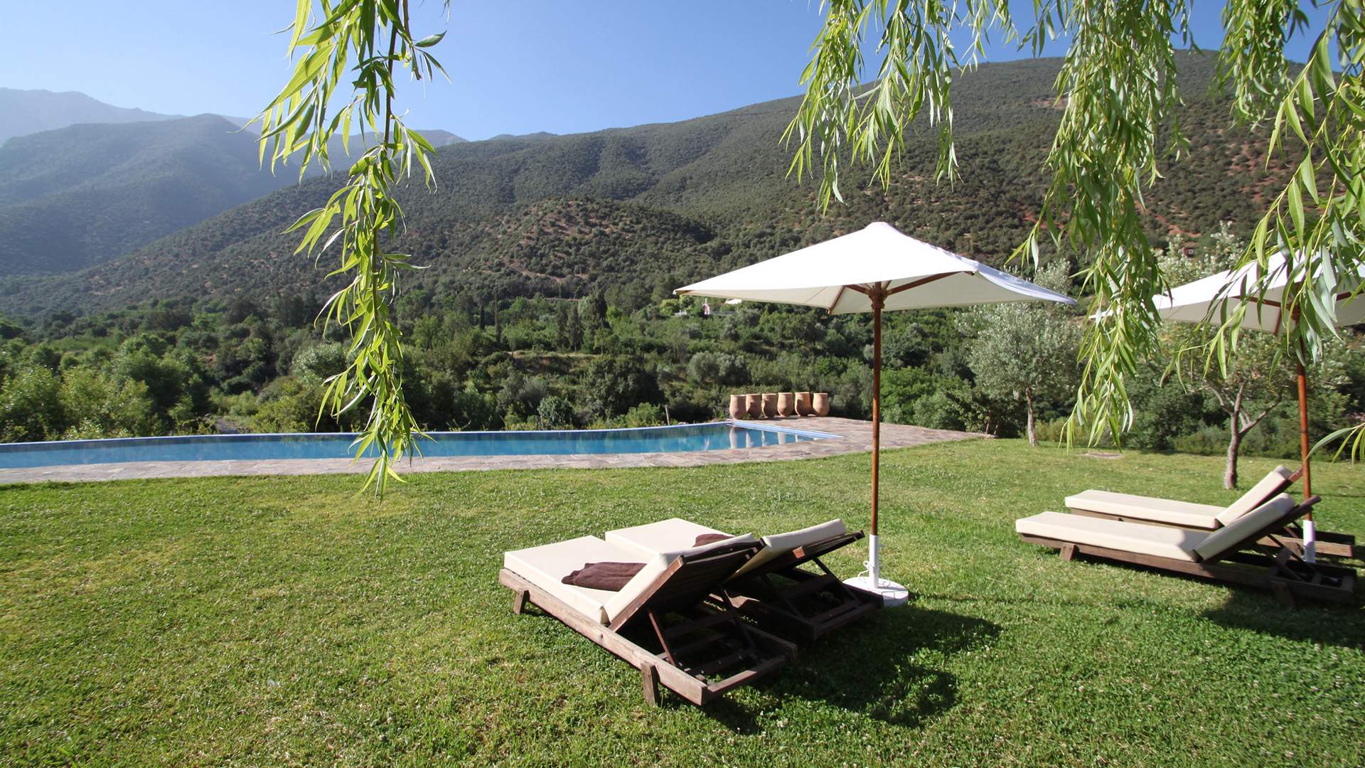 Moroccan Kasbah Poolside