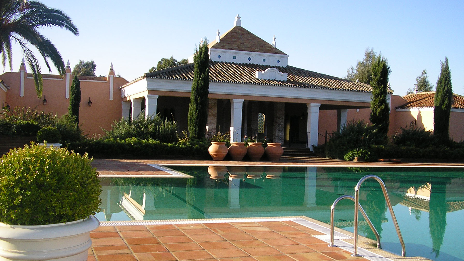 Private Pool at the Spanish Monasterio