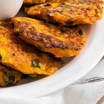 Carrots Fritters