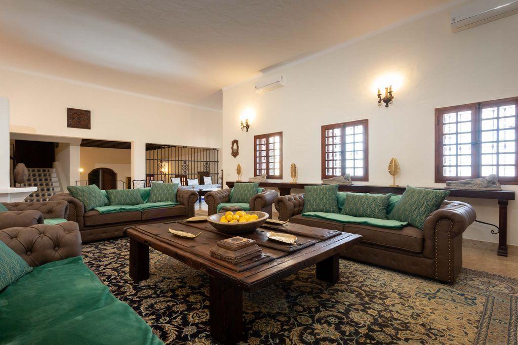 Main Lounge at Huerta Belinda in Tarifa