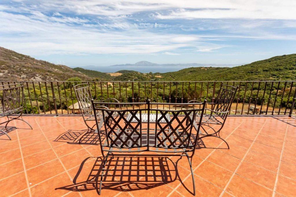 Terrace at Huerta Belinda